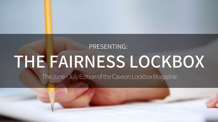 The Fairness Lockbox - June/July 2018