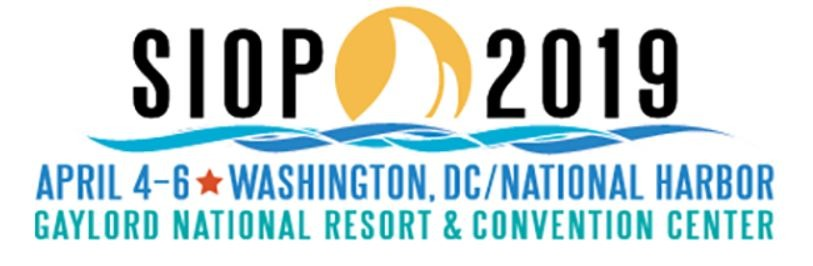 SIOP 2019: Society for Industrial and Organizations Psychology, April 4-6, Washington DC