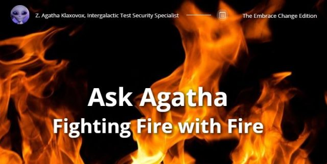 Ask Agatha: Fighting Fire with Fire - The Lockbox
