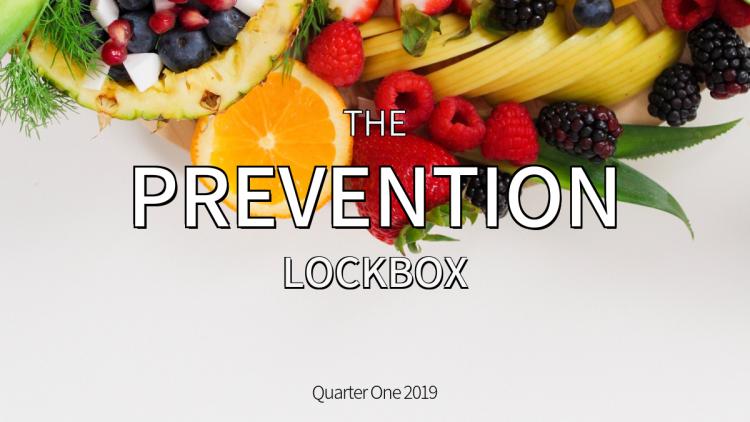 The Prevention Lockbox - Winter 2019